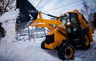 Уборка территории и площадок от снега